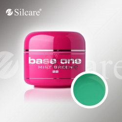Gel UV Base One Silcare color Mint Green 5ml 22