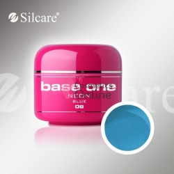 Gel UV Base One Silcare color Neon Albastru Turcoaz 5ml