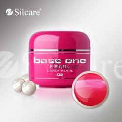 Gel UV Base One Silcare color sidefat Candy Pearl 5ml 02