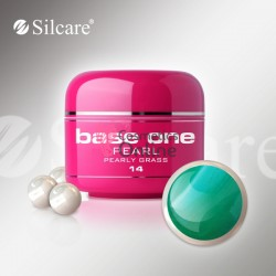 Gel UV Base One Silcare color sidefat Pearly Grass 5ml