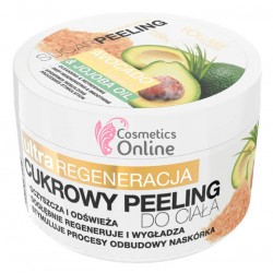 Peeling pentru corp cu avocado si ulei de jojoba Vollare 225 ml