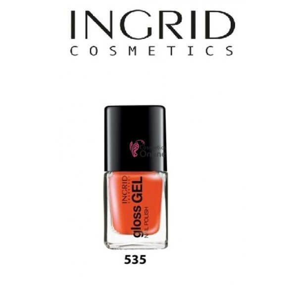 Lac de Unghii Gloss Gel Effect Ingrid 7 ml, 535