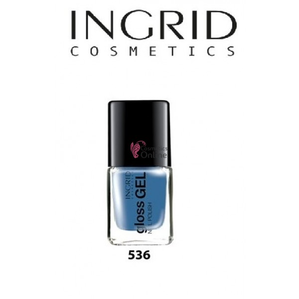 Lac de Unghii Gloss Gel Effect Ingrid 7 ml, 536